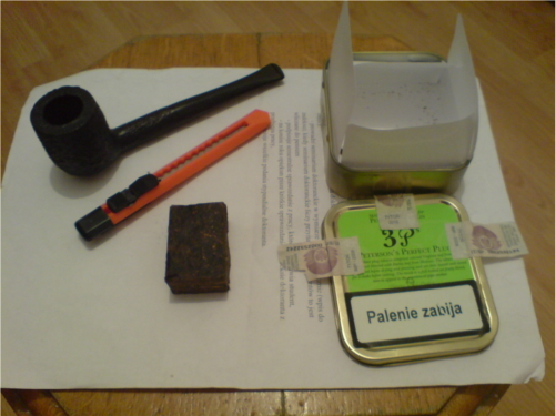 Nabijanie fajki – plug