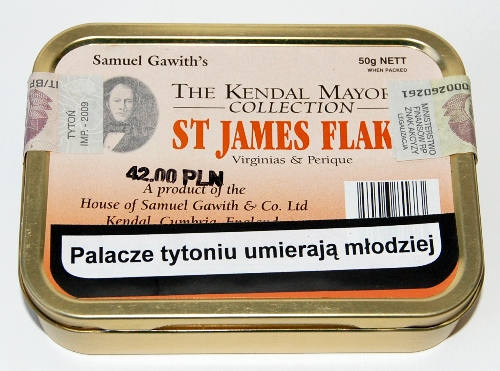 Samuel Gawith St. James Flake