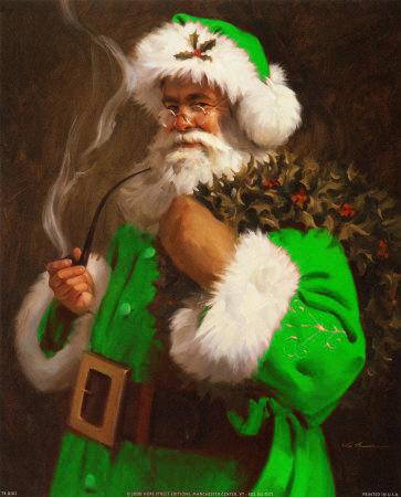 Kiedy Mikołaj zaczął palić fajkę