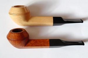 Pierwsze fajki Kyringe - kolekcja Yuriy Novikov (źr. pipedia.org)