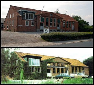 Fabryka Stanwella w Borup - lata '70 i rok 2007 (źr. pipephil.eu)