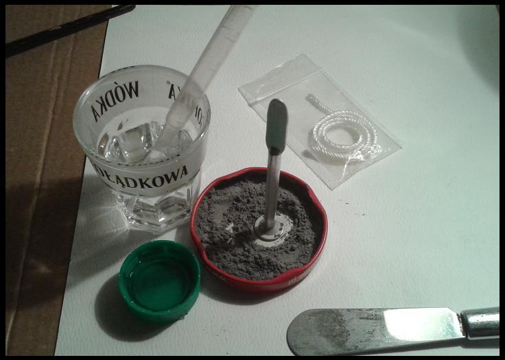 przygotowanie plomby