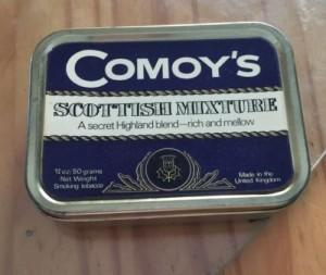 Comoy's Scottish Mixture - wersja produkcji brytyjskiej.