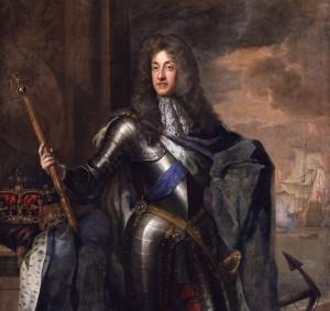 Jakub II, król Anglii i król Szkocji (jako Jakub VII), zasadniczo ostatni szkocki monarcha.