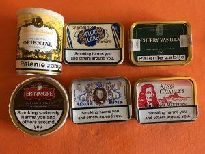 Ostatnie tytonie fajkowe.