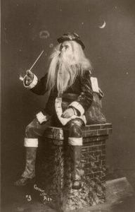 Mikołaj z fajką