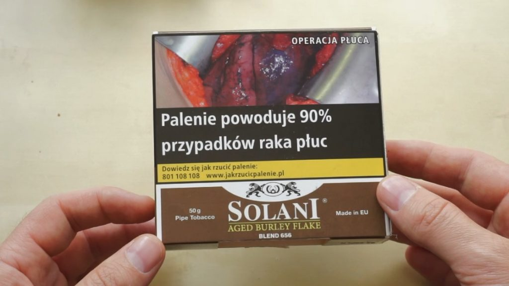 Solani – Aged Burley Flake (video recenzja)